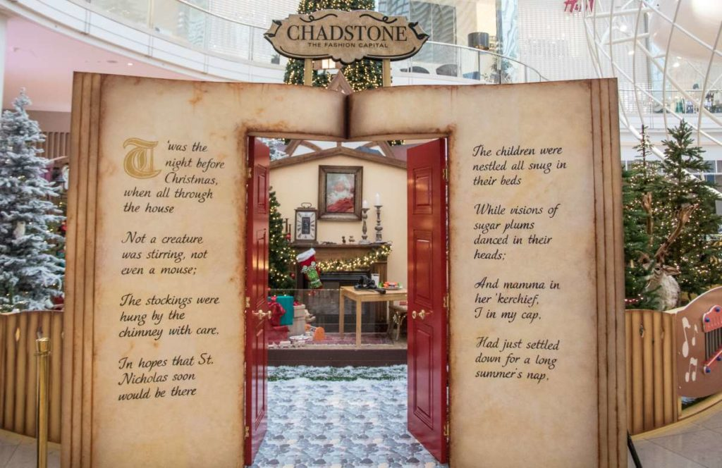 Christmas decor to suit any shopping centre budget