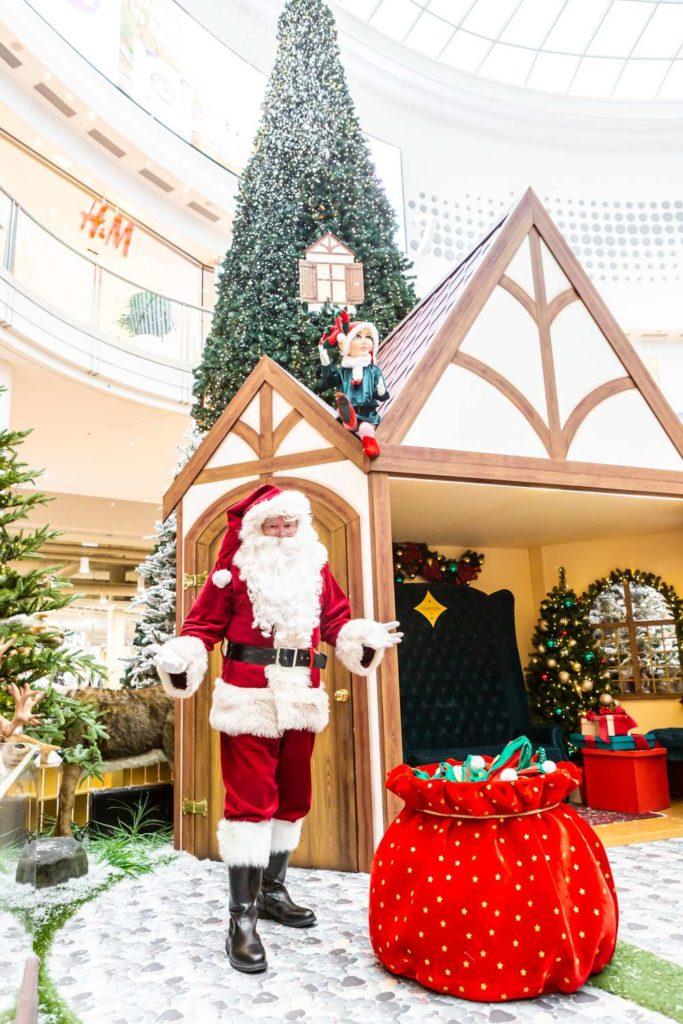 santa shopping centre